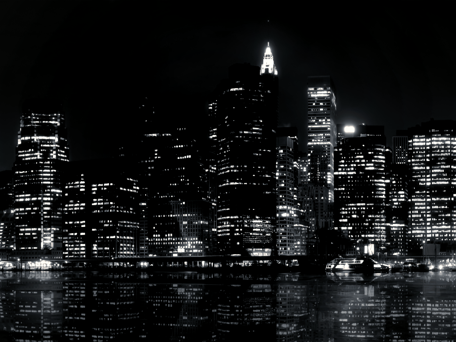 Black and White City Northern River wallpaper  Republican Suggests Shooting UK Public Workers