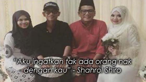 Pesanan Shahrol Shiro Kepada Bakal Suami Adik Perempuannya