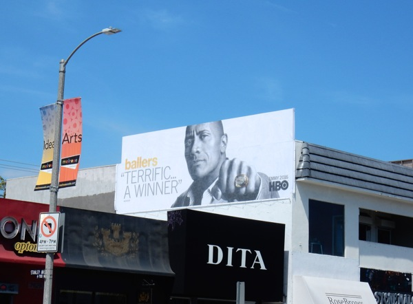 Ballers season 1 HBO Emmy 2016 billboard