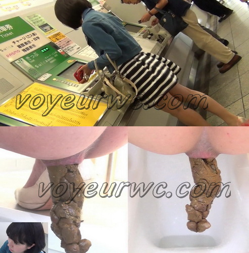 [FF-057] Girls pooping in public Tokyo toilets