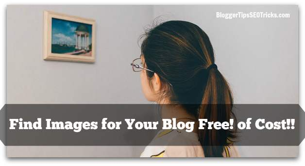 how to find images for my blog for free!