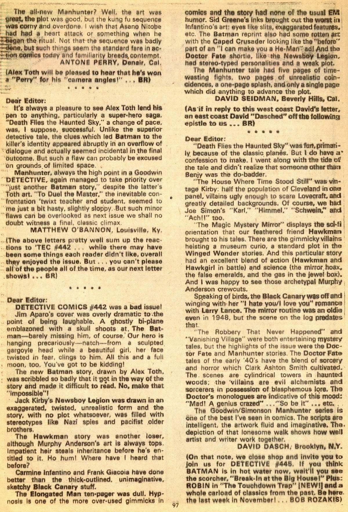 Detective Comics (1937) 444 Page 96