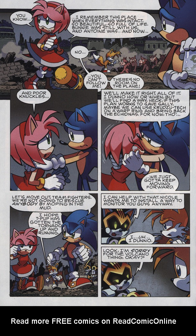 Read online Sonic The Hedgehog comic -  Issue #246 - 30