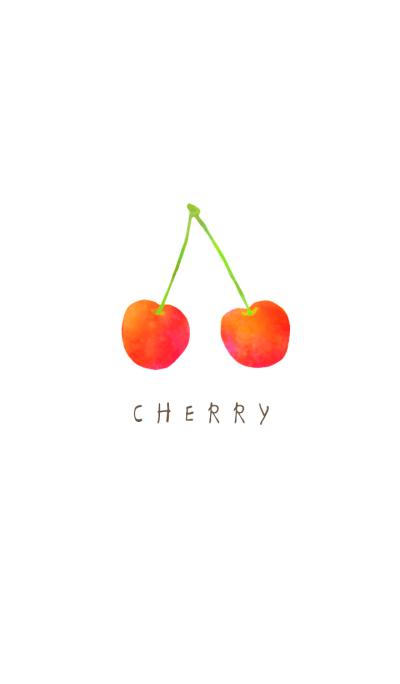 Chic cherry illust