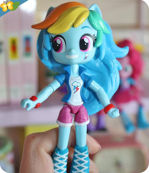 Poupées Equestria Girls Minis : Rainbow Dash