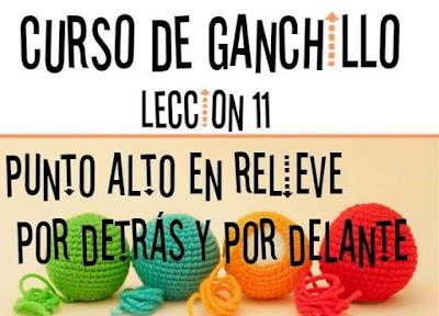 Curso de Ganchillo-Lección 11