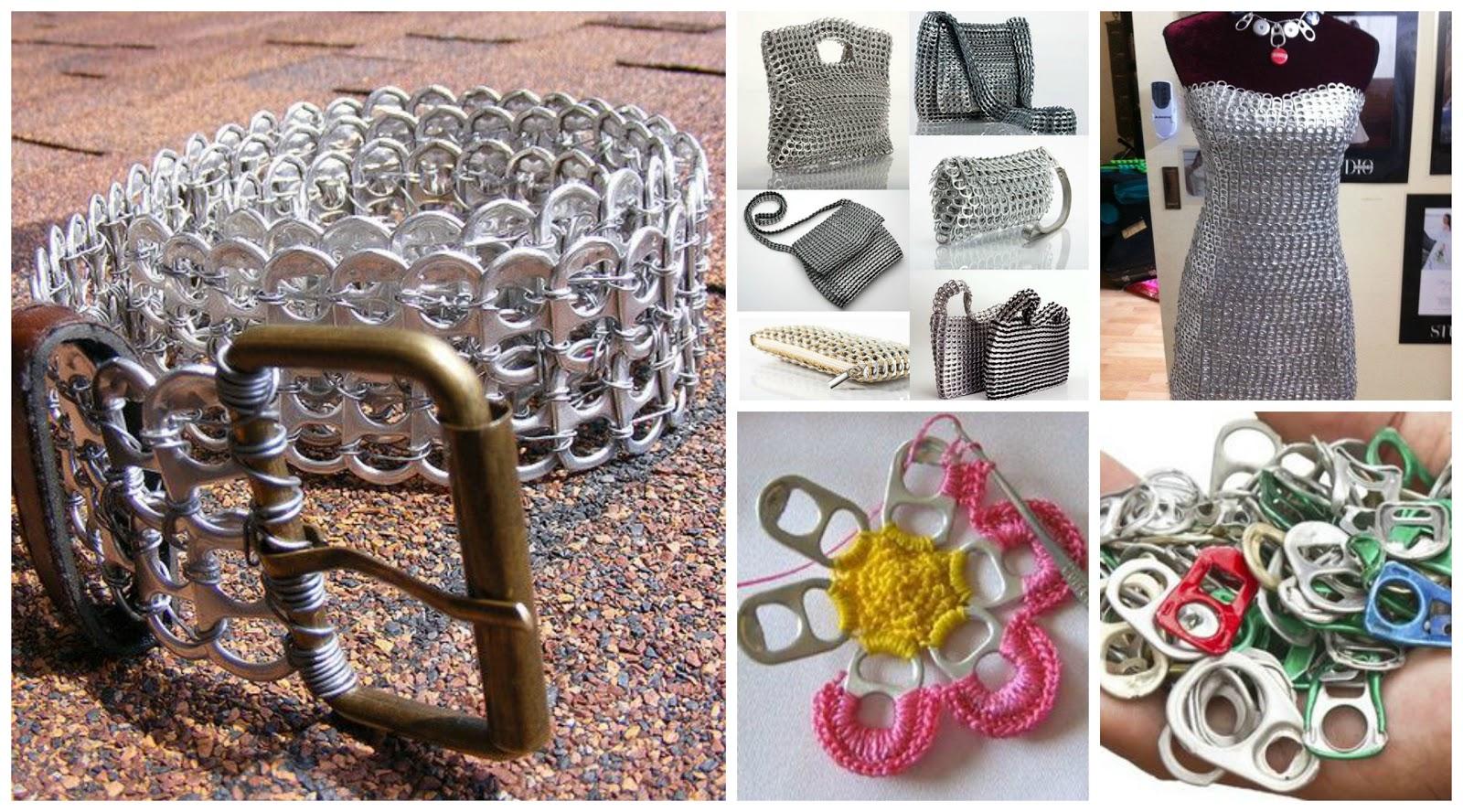 Reciclando con erika 5 ideas para reciclar anillas de latas - Ideas para reciclar ...