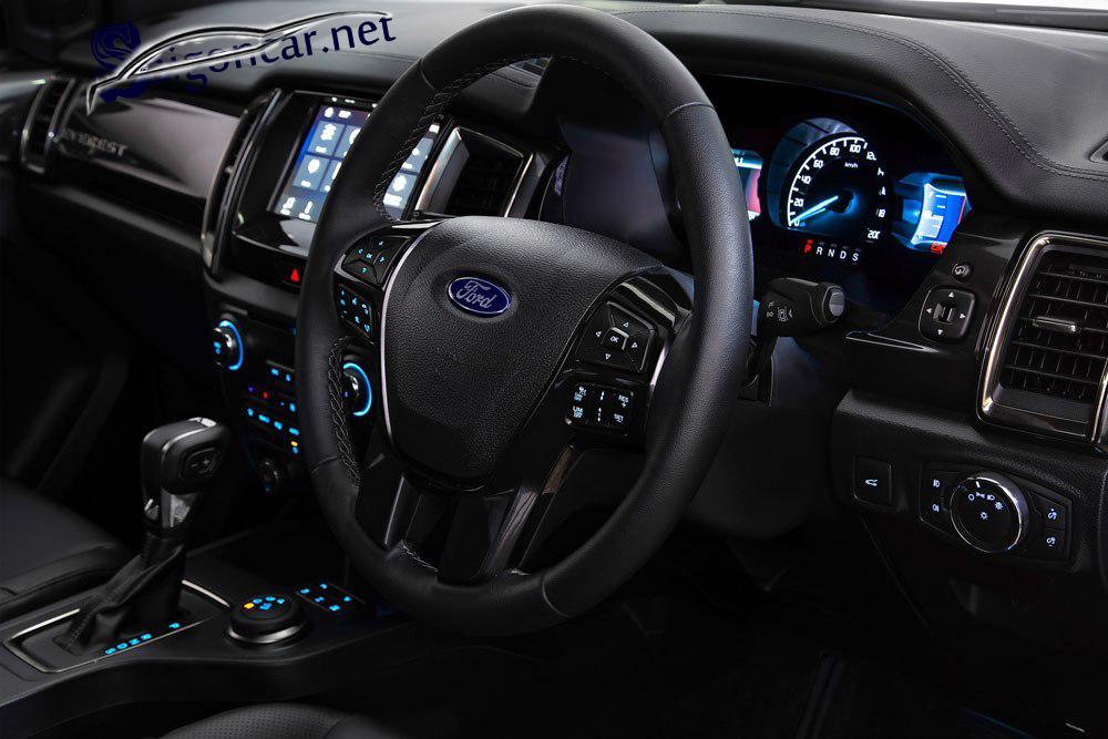nội thất Ford Everest titanium 2019