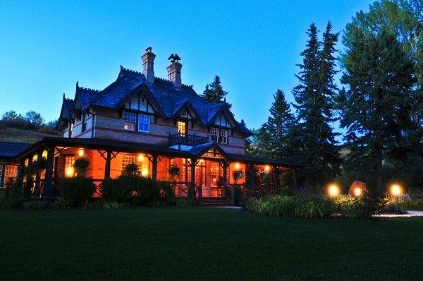 Bow Valley Ranche Resort Artisan Gardens Canada