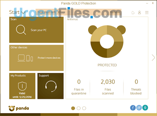Download Panda Gold Protection 2016 Latest