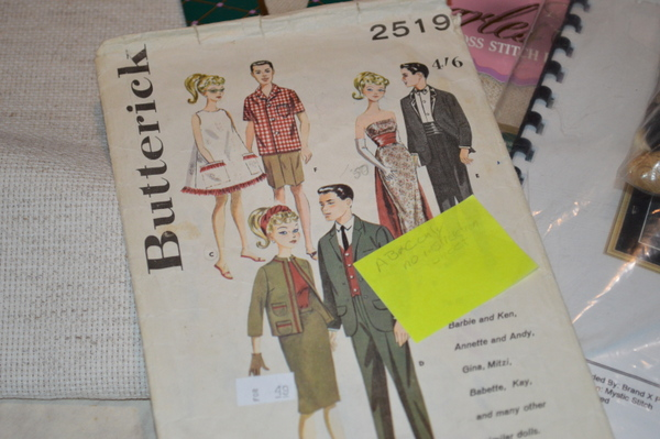 Vintage Butterrick Barbie Patterns