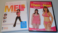 Natalie Cassidy,  Then & Now DVD & Mel B, Totally Fit