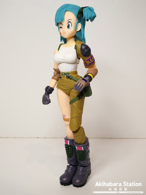 S.H.Figuarts BULMA de Dragon Ball - Tamashii Nations