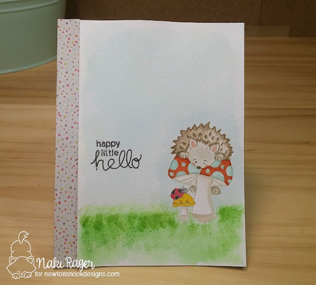 Newton's Nook Designs Hedgehog Hollow Set - Naki Rager