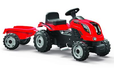 TOYS : JUGUETES - Smoby Tractor farmer xl con remolque 2016   Comprar en Amazon España