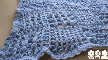 Tutorial coperta da culla con il telaio paciuga brega e imbelina