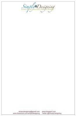letterhead GIVEAWAY: Custom Letterhead! 6