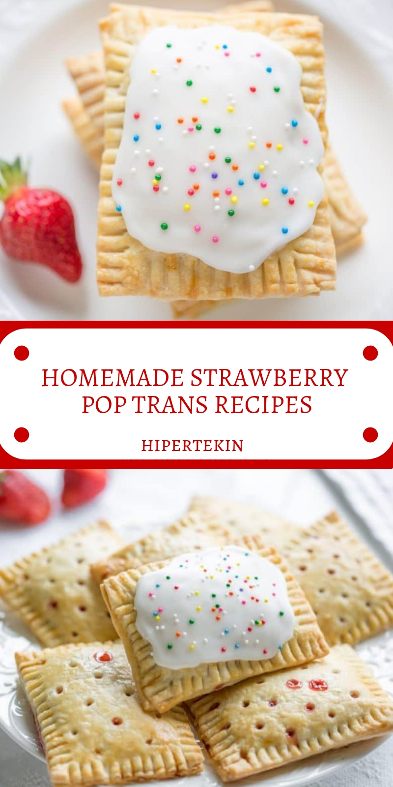 HOMEMADE STRAWBERRY POP TRANS RECIPES