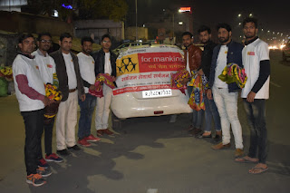 NGO For Mankind Sarva Sansthan provided 200 blankets to needy people in Jaipur.