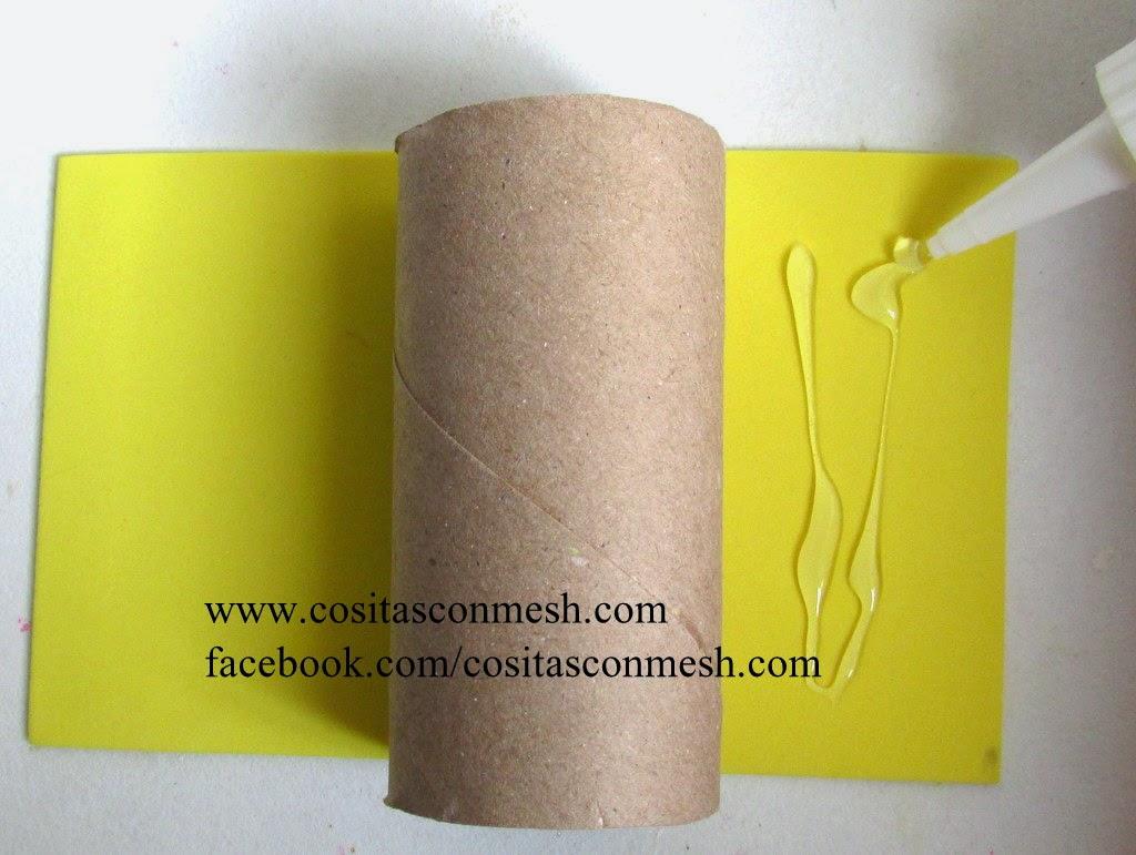 Dulceros de cohete para ni os con rollos de papel for Papel decomural para ninos
