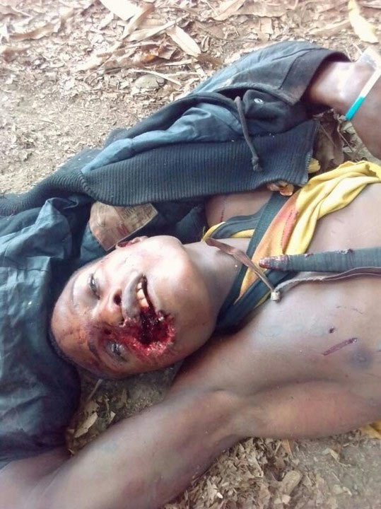 Graphic: Notorious cultist shot dead in Ondo