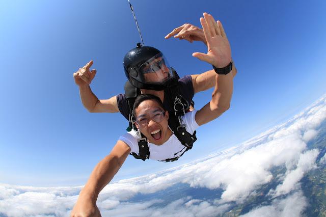 Fakta Skydiving - Apa yang Diharapkan