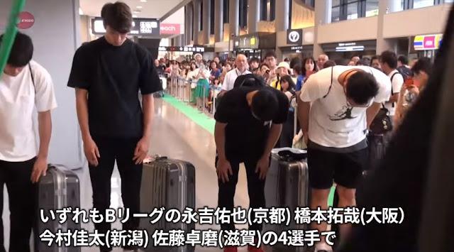 Begini Sambutan Warga Jepang saat 4 Atlet Asian Games 'Jajan' PSK Tiba di Bandara