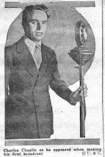 Первое выступление Чаплина по радио (1923) - 4