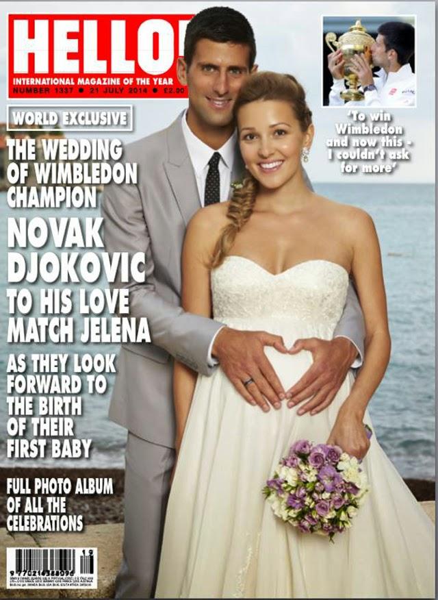 Novak Djokovic Wedding picture