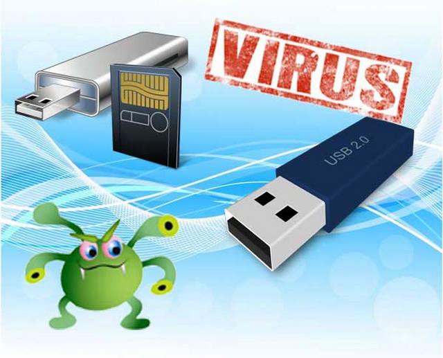 حذف فيروس اختصار الملفات Shortcut Virus من الفلاشة USB بطريقة سريعة