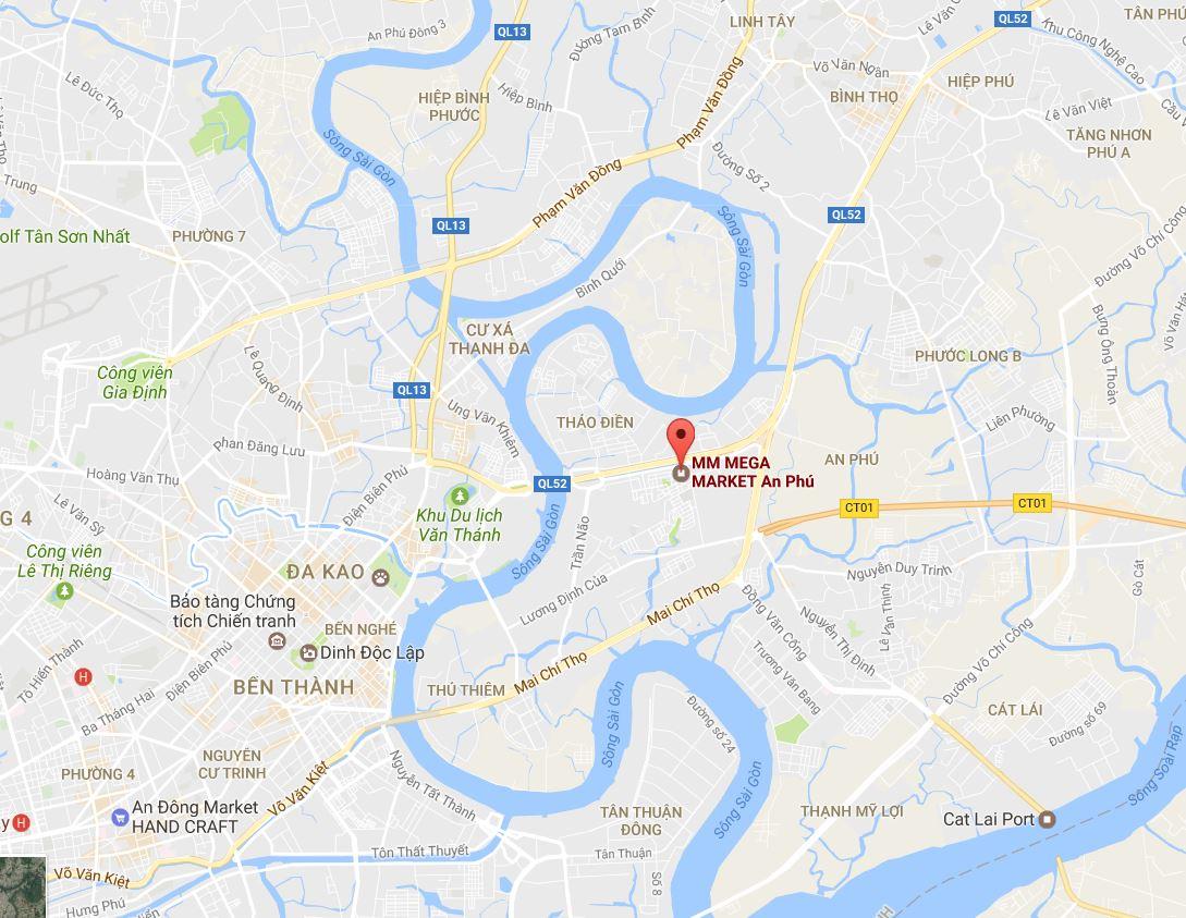 Blueberry FoodTech: Mega-Market Ho Chi Minh City Vietnam