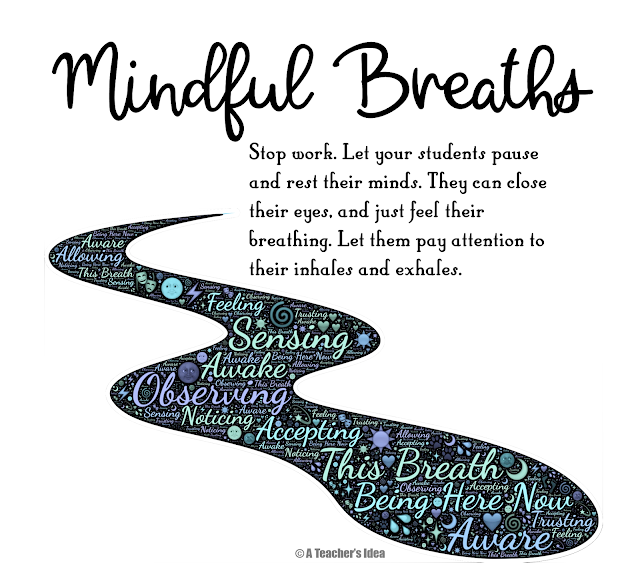 mindful breaths