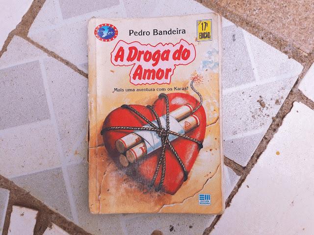 Livros lidos em fevereiro- A DROGA DO AMOR