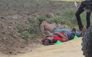 Hallan dos cuerpos ejecutados en Chacaltianguis veracruz