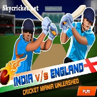 Play India Vs England Cricket Game 2