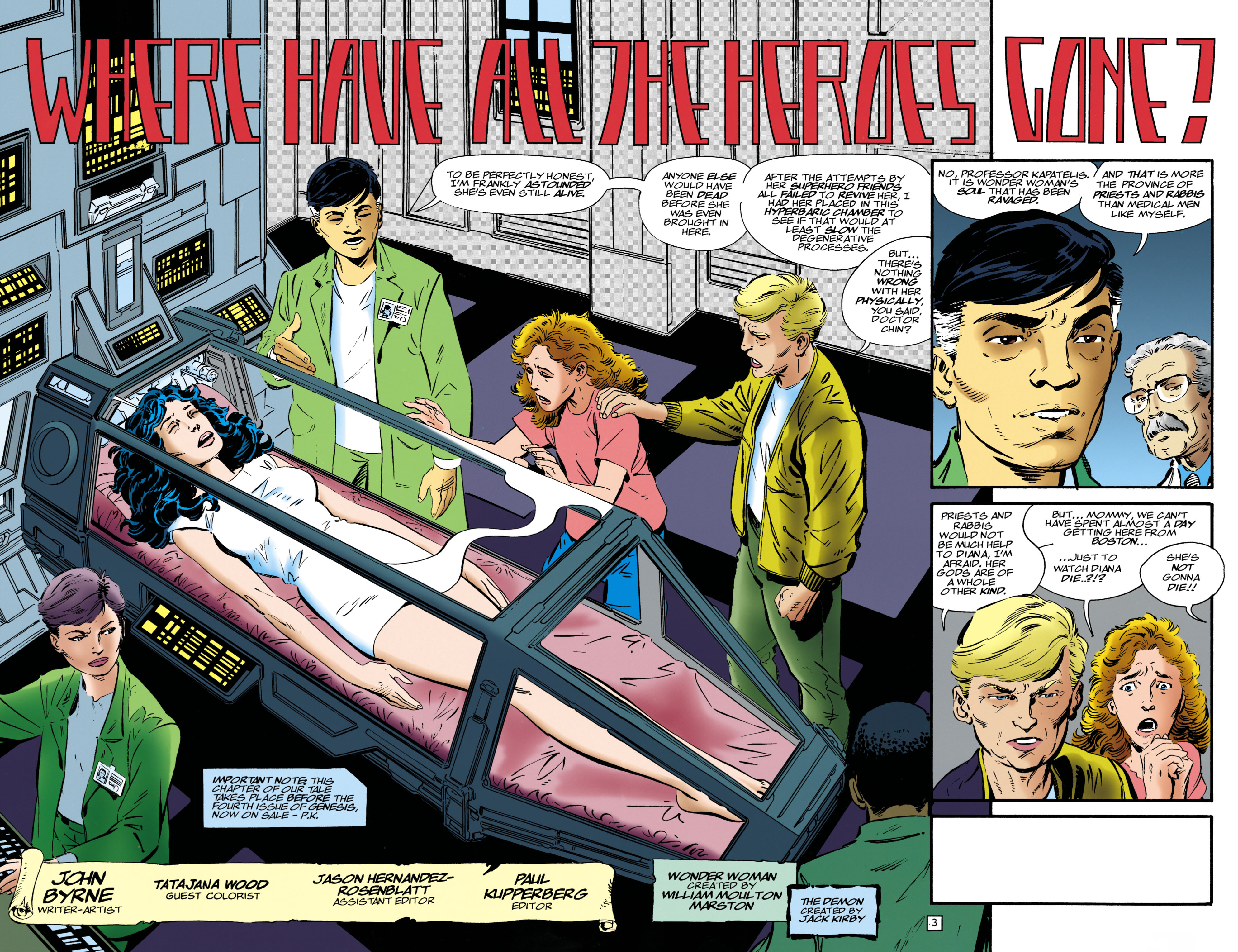 Read online Wonder Woman (1987) comic -  Issue #126 - 3