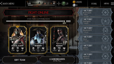 Mortal kombat x mod apk game