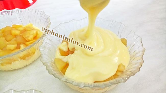 Elmalı Puding Nasıl Yapılır - viphanimlar.com
