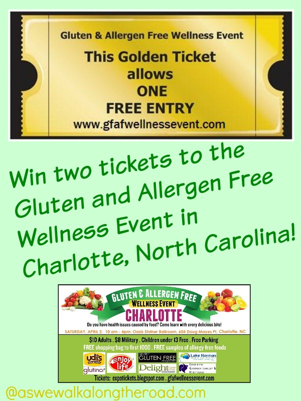 Ticket giveaway to Gluten and Allergen Free event