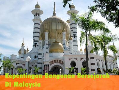 Bangunan Bersejarah Masjid Ubudiah