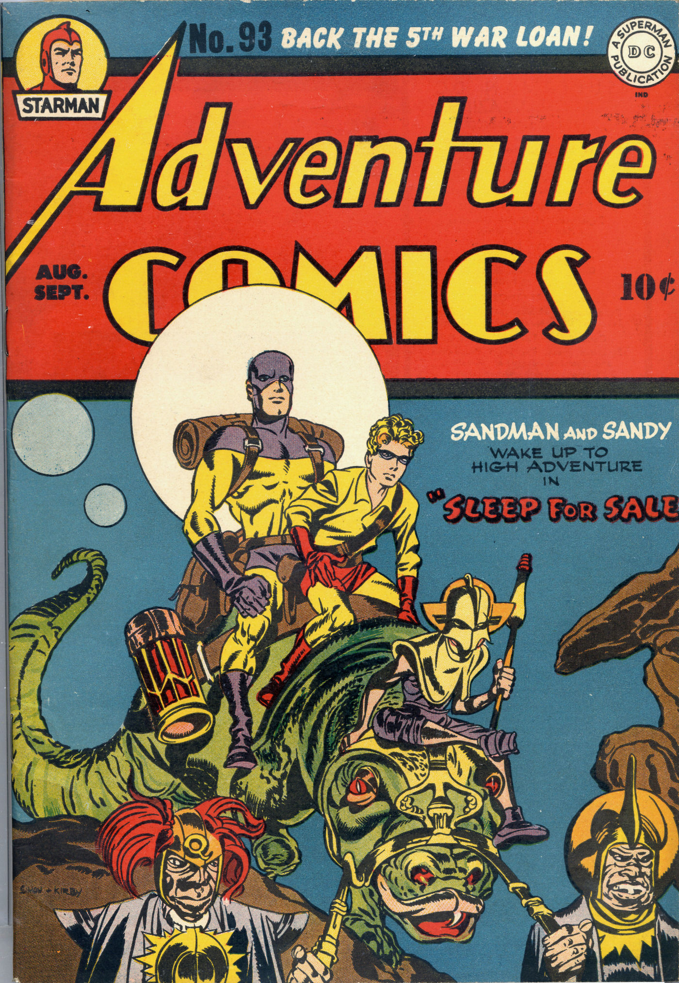 Read online Adventure Comics (1938) comic -  Issue #93 - 2