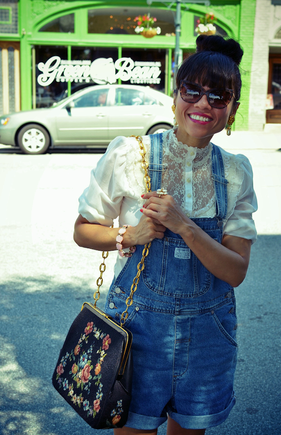 SHORT OVERALLS STREET STYLE