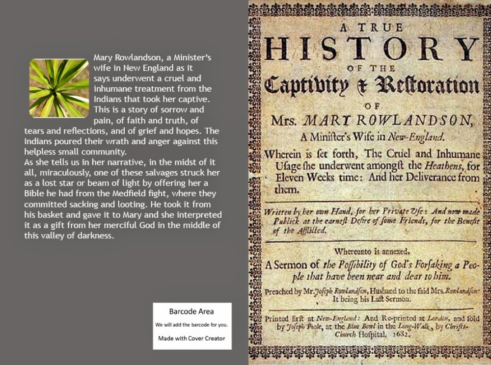 A True History of the Captivity and Restoration of Mrs. Mary Rowlandson at alejandroslibros.com