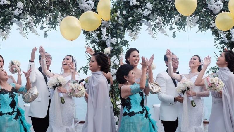 Foto Pernikahan Sammy Simorangkir dan Viviane 2