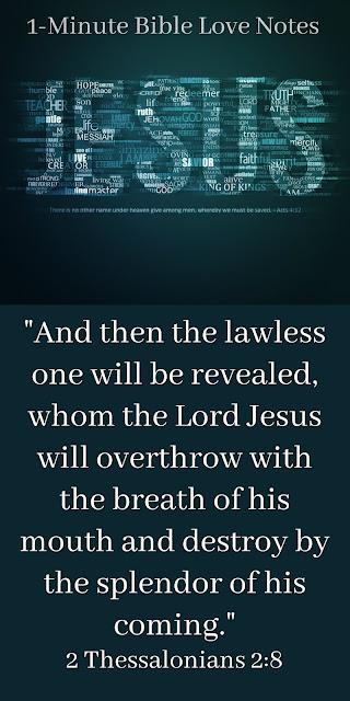 the anti-Christ, Jesus powerful