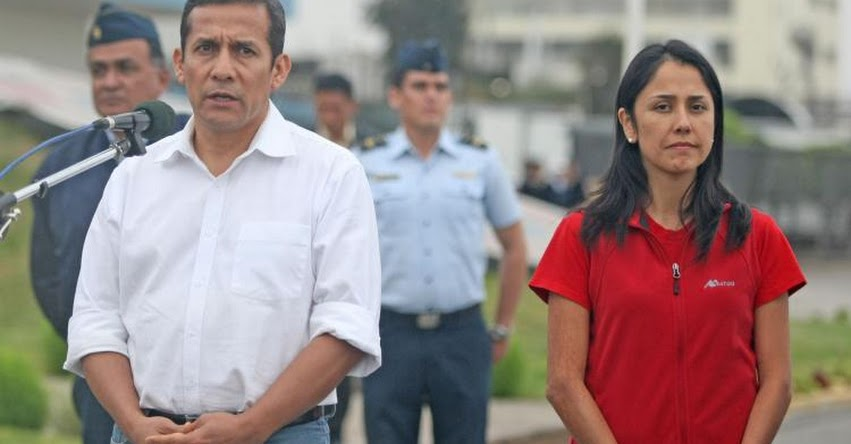 Ordenan prisión preventiva para Ollanta Humala y Nadine Heredia