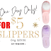 2 Pairs of Victoria's Secret Slippers Only $5 + Free Shipping - Apple iPHone and iPad Users Only