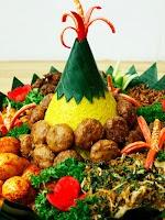 Nasi Tumpeng Manado Premium