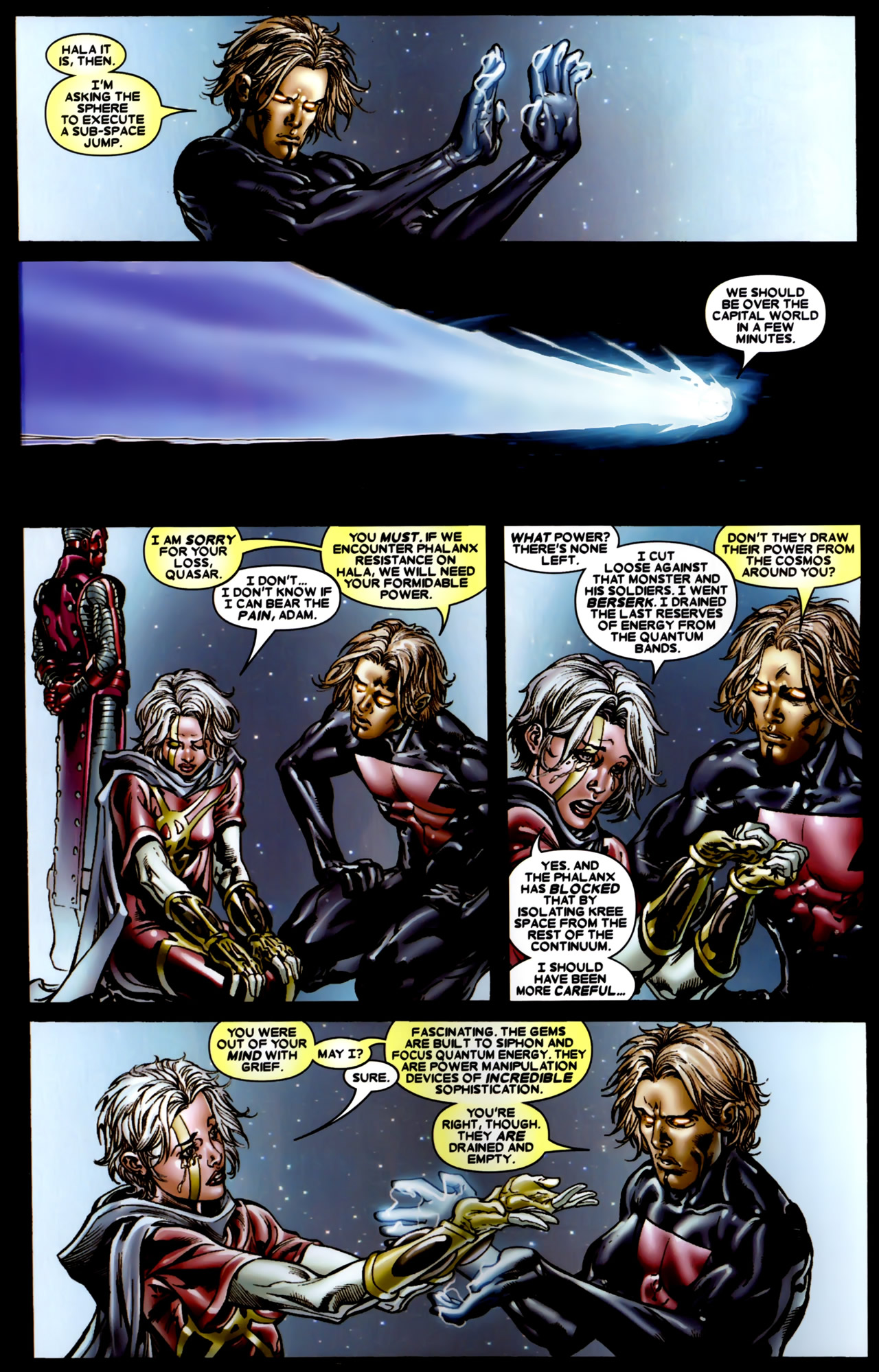Read online Annihilation: Conquest comic -  Issue #4 - 9