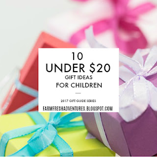 Under $20 Gift Ideas for Children